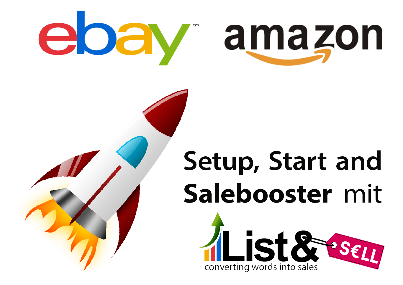eBay / Amazon Einrichten & Start listandsellgmbh