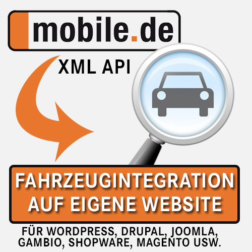mobile.de API Integration Einbindung Agentur