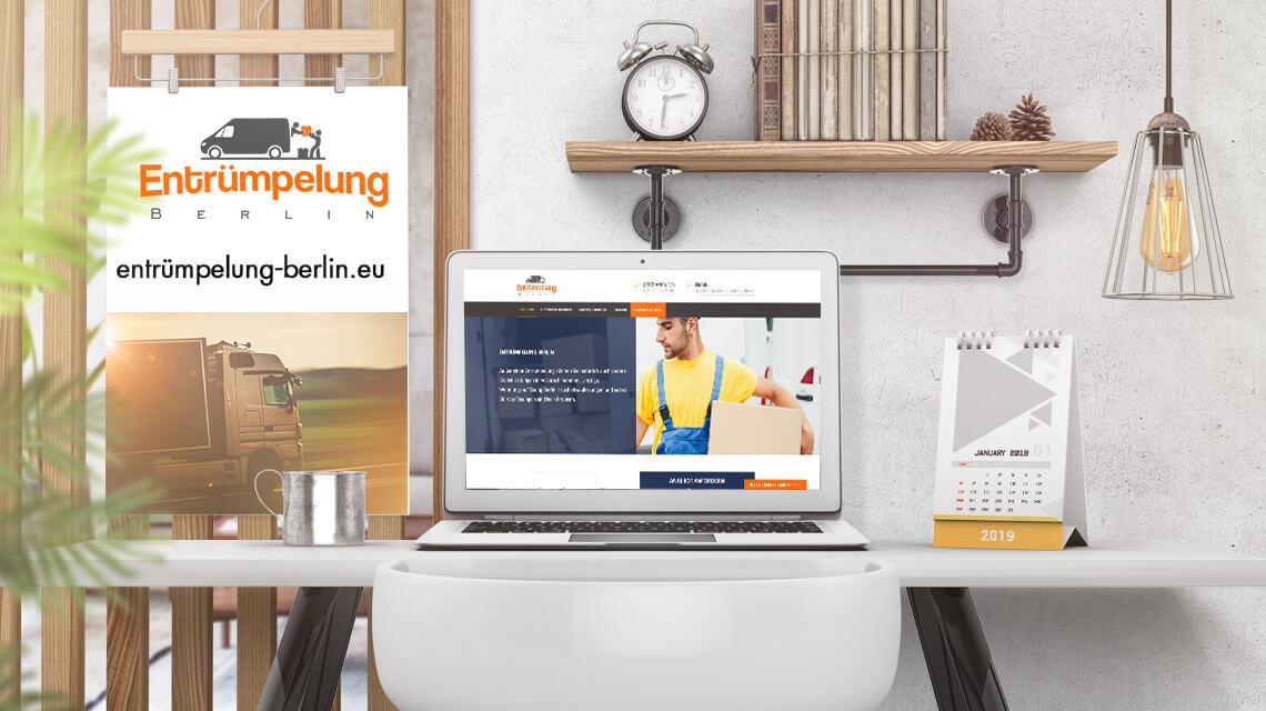 wordpress webdesign für entrümpelung berlin