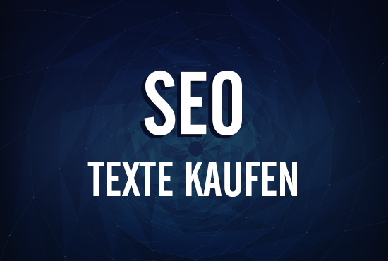 SEO & Werbe Texte Kaufen online