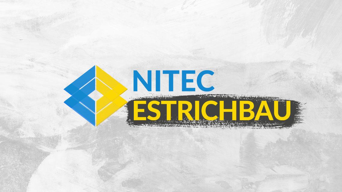 Webseit Design für Nitech Estrichbau