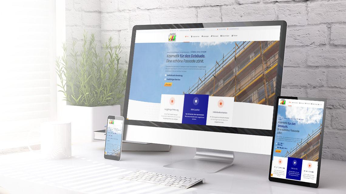 Soenmez Bau Webdesign durch ListandSell