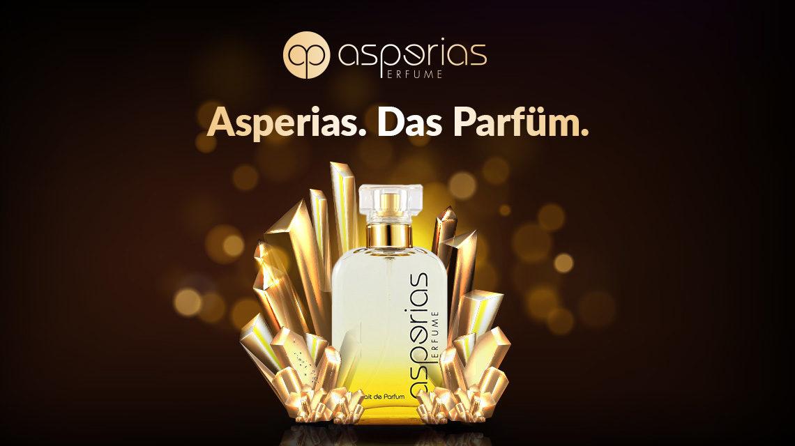 asperias. parfüm webseite redesign relaunch