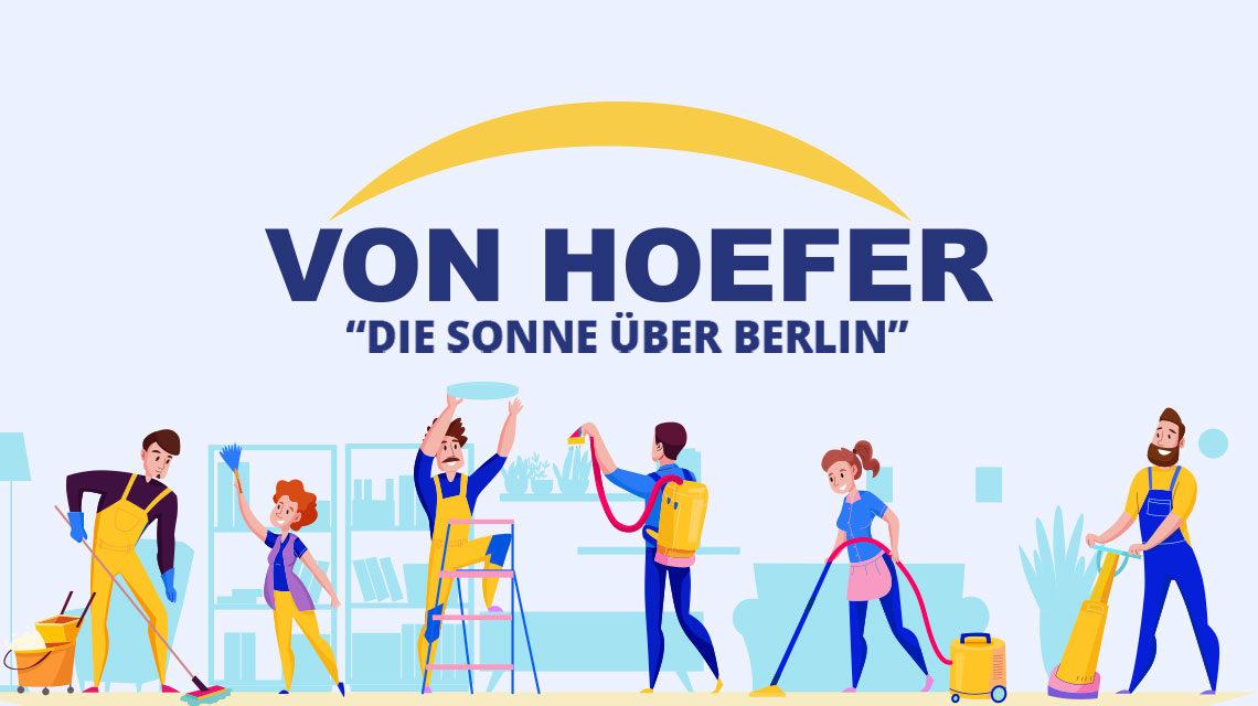 Vonhoefer Services Webseite design